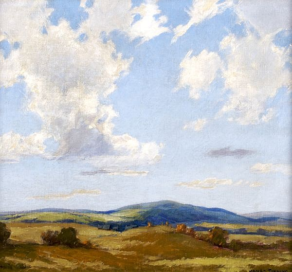 James Topping, (American, 1879-1949), Rolling Landscape