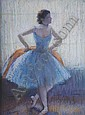 *Louis Kronberg, (American, 1872-1965), Ballerina, together with a pastel depicting a ballerina, Louis Kronberg, Click for value