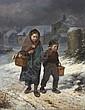 Louis Simon Cabaillot Lassalle, (French, b. 1810), The Walk Home, Louis-Simon Cabaillot-Lassalle, Click for value