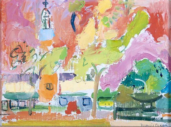*Francis Chapin, (American, 1899-1965), Pink Sky