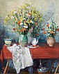 André Vignoles, (French, b. 1920), Composition aux Fleurs, 1964, André Vignoles, Click for value