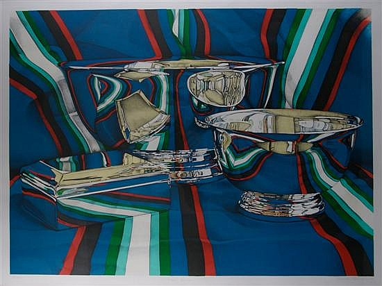 Jeanette Pasin Sloan, (American, b. 1946), Silver Bowls