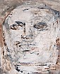 Leon Golub, (American, 1922-2004), Head (II), 1958, Leon Albert Golub, Click for value
