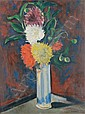 Henri Epstein, (Polish, 1892-1944), Still Life with Flowers, Henri Epstein, Click for value