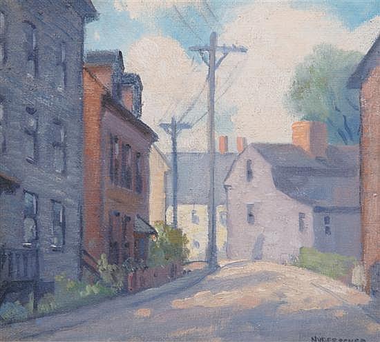 Frank Bernard Nuderscher, (American, 1880-1959), Marblehead