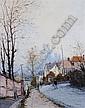 Jean Pierre Dubord, (French, b. 1949), Street Scene, Rouen, Jean Pierre Dubord, Click for value