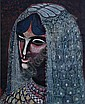 Oronzo Vito Gasparo, (American, 1903-1969), Head of a Woman, Oronzo Vito Gasparo, Click for value