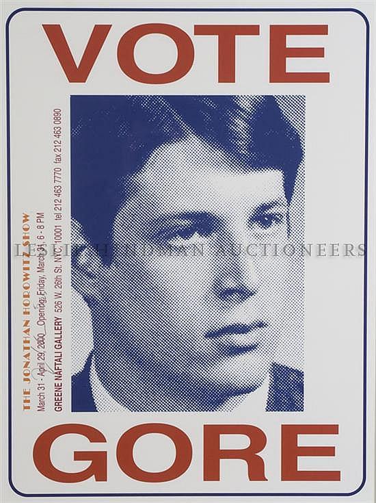 *Jonathan Horowitz, , Vote Gore, 2000