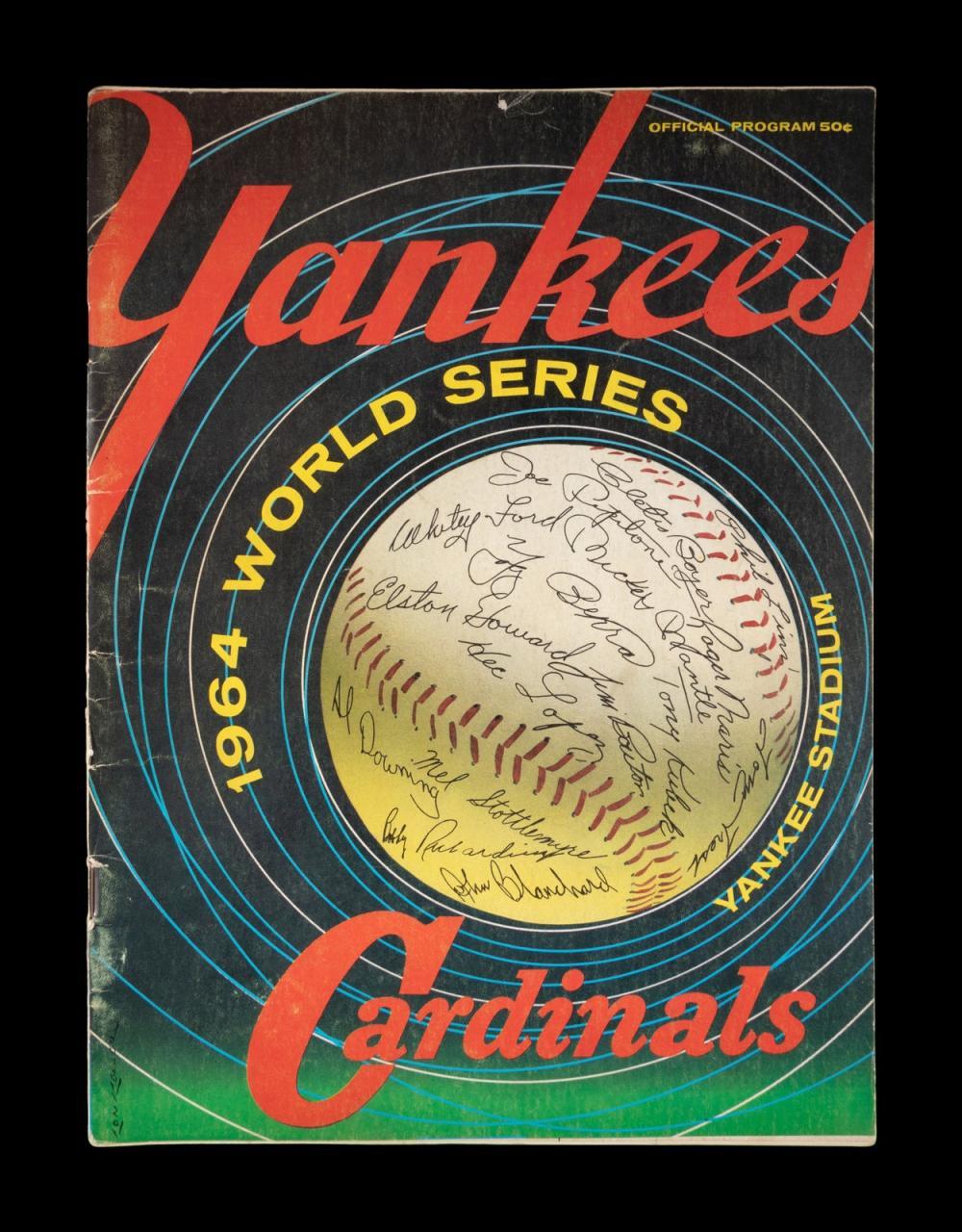 A Group of Three New York Yankees Mickey Mantle Yankee Stadium Items,