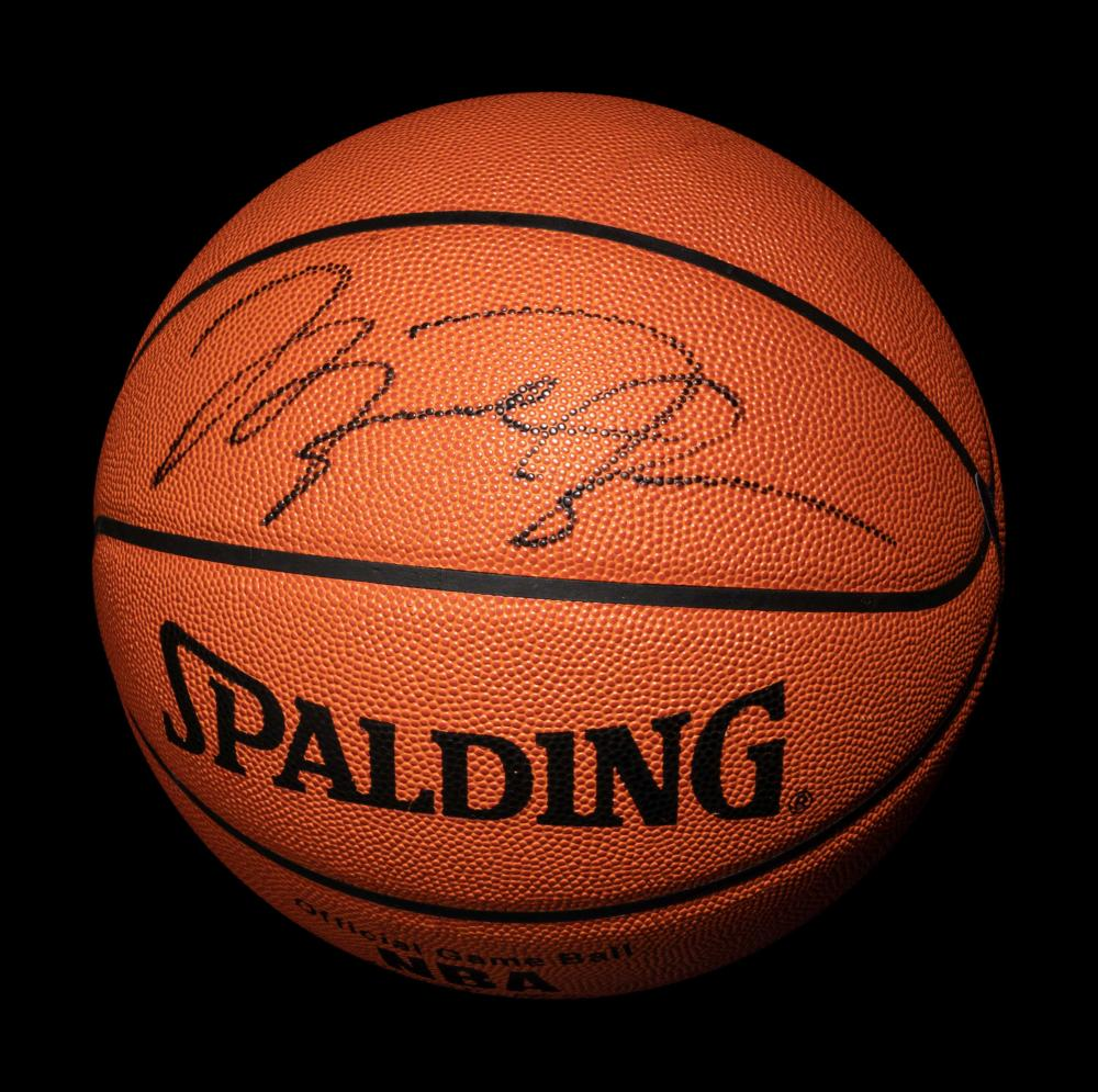 A Michael Jordan Signed Autograph Spalding Official NBA Game Basketball (Upper Deck Authenticated),