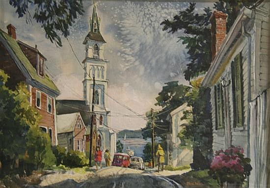 Ruth Van Sickle Ford, (American, 1897-1980), Rockport, Massachusetts