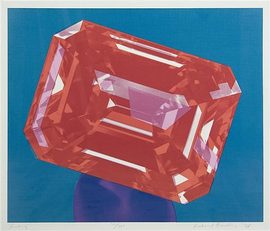 Richard Bernstein, (American, 1939-2002), Ruby, 1978