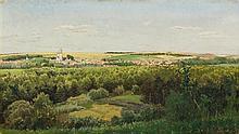 * Aleksandr Aleksandrovich Kiselev, (Russian, 1838-1911), Summer Landscape, 1884