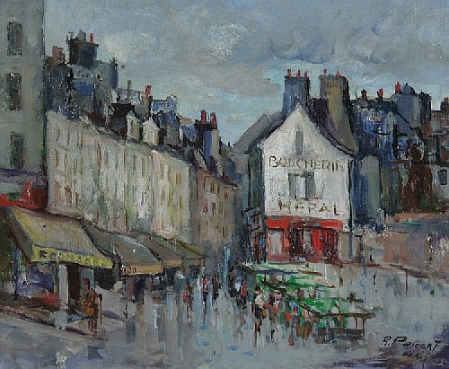 Raphael Pricert, (French, 20th Century), Paris