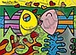Romero Britto, (Brazilian, b. 1963), Two Fish, Romero Britto, Click for value