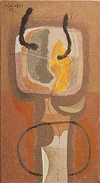 *Orlando Sobalvarro, (Nicaraguan, b. 1943), Bull, 1997