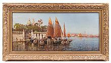 Nicholas Briganti, (Italian/American, 1861-1944), Grand Canal, Venice