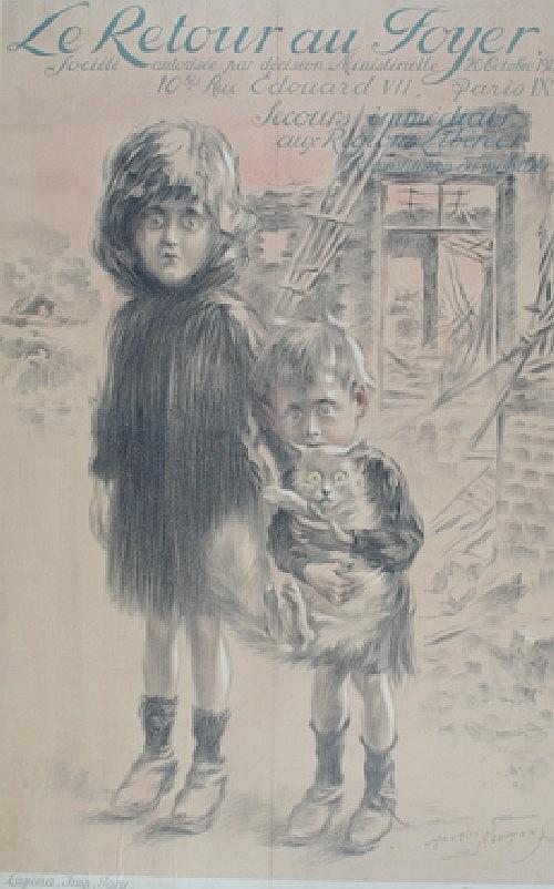 *Maurice Neumont, (French, 1868-1930), Le Retour au Foyer