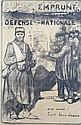 *Jules Adler, (French, 1865-1952), Emprunt Defense Nationale eux aussi, Jules Adler, Click for value