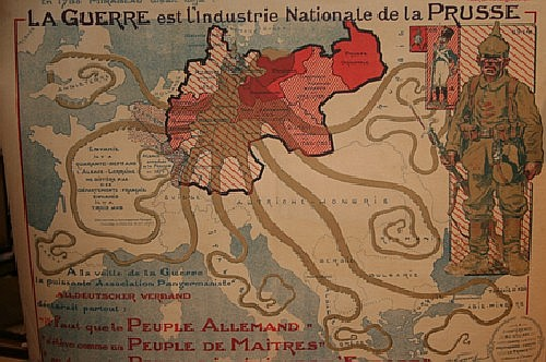 *Maurice Neumont, (French, 1868-1930), French WWI Poster, together with three other posters.