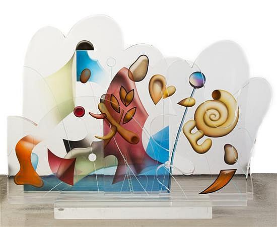 Yankel Ginzburg, (American, b. 1945), Untitled, 1986