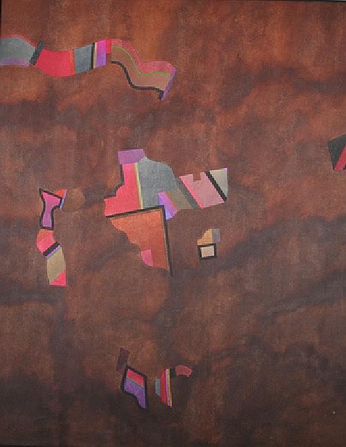 Roland Ginzel, (American, b. 1921), Untitled, 1970