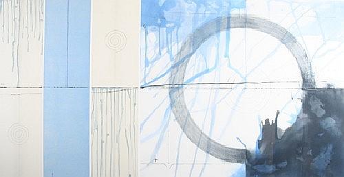 Shoichi Ida, 20th century, Well from Karma- Trap Echo Blue #1