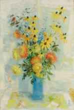 Le Pho (Vietnamese/French, 1907-2001) Fleurs