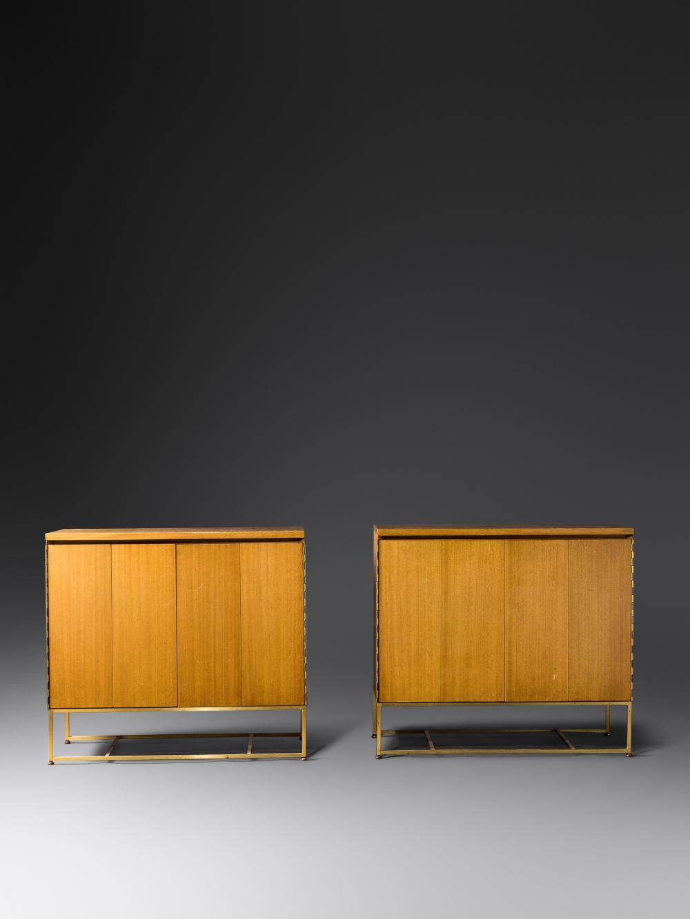 Paul McCobb (American, 1917-1969) Pair of Irwin Collection Cabinets Calvin Furniture, USA