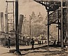 * Gustave Goetsch, (American, 1877-1969), N.Y. Harbor - Lower East Side, Gustav Frederick Goetsch, Click for value
