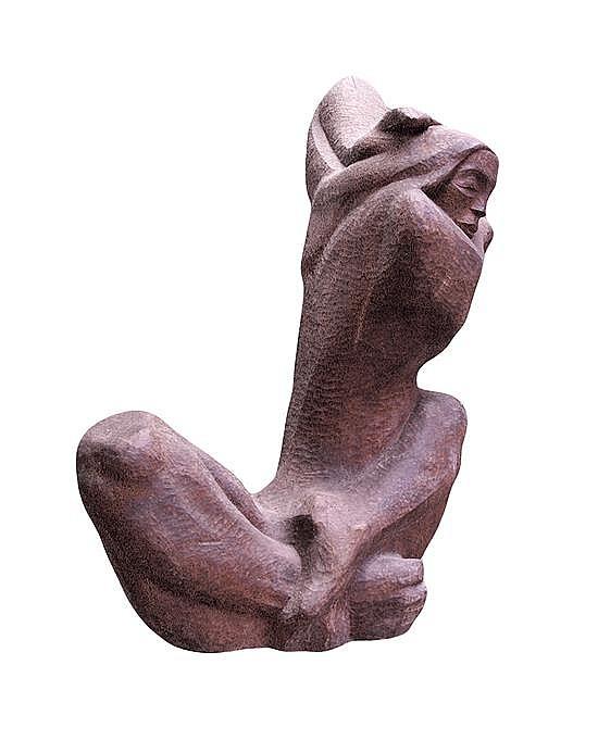 * Rudolph Edward Torrini, (American, b. 1923), Female Nude