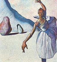 Miguel Padura, (Cuban, b. 1957), Ballerina