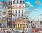 Hiro Yamagata, (Japanese, b. 1948), Montmarte, Hiro  Yamagata, Click for value