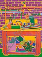 Clayton Pond, (American, b. 1941), The Kitchen Sink in My Studio, Clayton Pond, Click for value