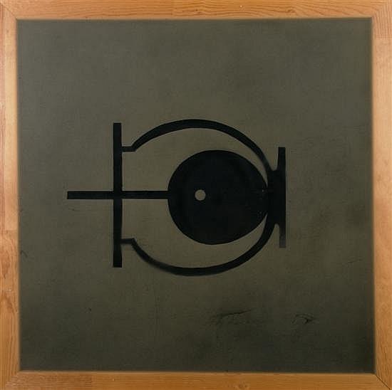 Suzan Etkin, (American, b. 1955), Untitled (Symbol), 1987