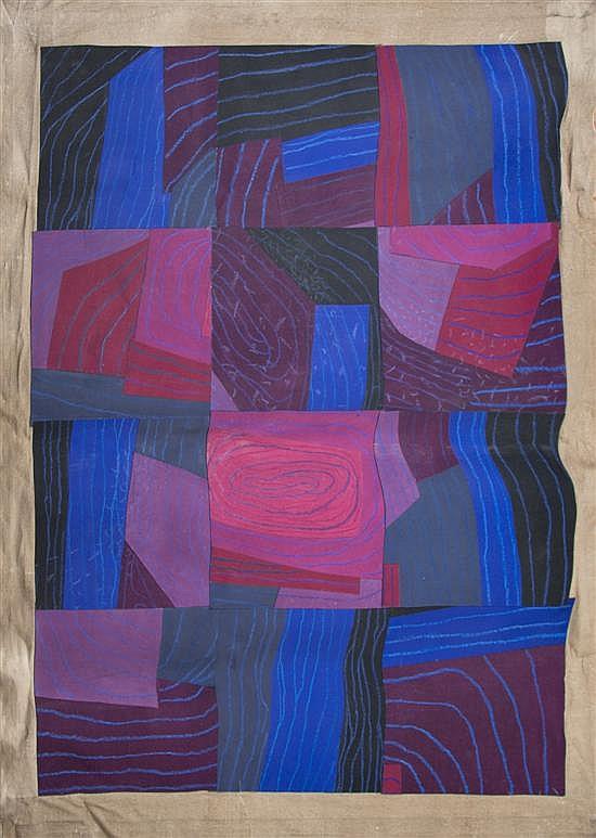 Margo Hoff, (American, 1912-2008), Whirlpool River