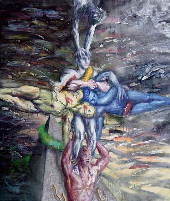 *Valentin Popov, (Ukrainian, b. 1956), Pyramid, 1986