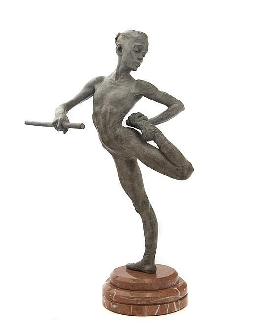 Richard MacDonald, (American, b. 1946), Warming Up