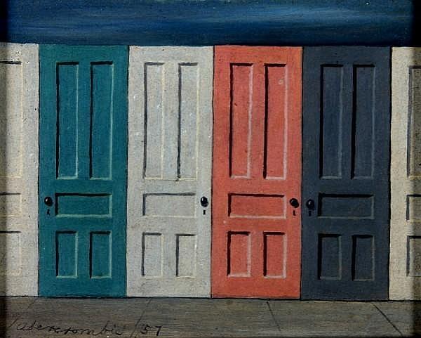 Gertrude Abercrombie, (American, 1909-1977), Doors