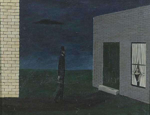 Gertrude Abercrombie, (American, 1909-1977), The Night Visitor