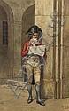 Giuseppe Aureli, (Italian, 1858-1929), Reading the News, 1881, Giuseppe Aureli, Click for value