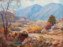Robert Alexander Graham (American, 1873-1946) Willow Creek Farm, 1925