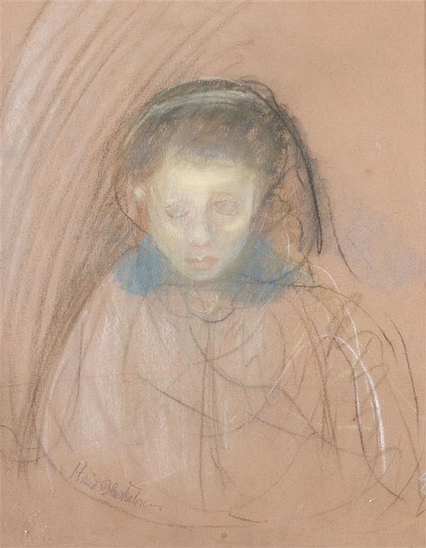 Harriet Blackstone, (American, 1864-1939), Portrait of a Child