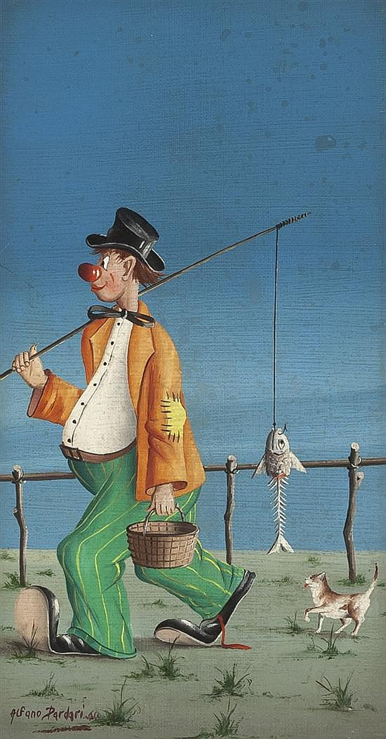 Alfano Alfredo Dardari, (Italian, b. 1924)(Italian, b. 1924), A Good Day Fishing