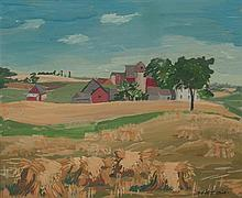 Melitta Suder Pick, (Wisconsin, 1912-1970), Washington County, Wisconsin, 1958