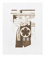 Arthur Thrall, (Wisconsin, 1926-2015), Hexagonal