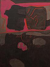 Arthur Thrall, (Wisconsin, 1926-2015), Sub-Stratum #2, 1971
