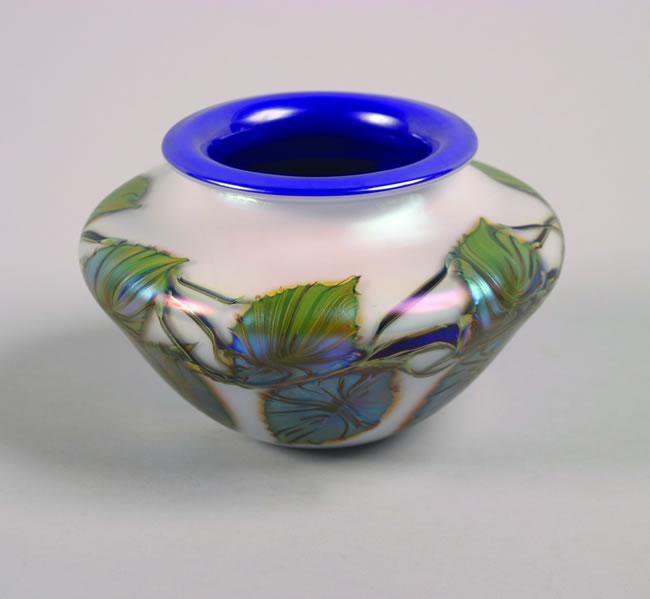 A David Lotton Cobalt Bowl