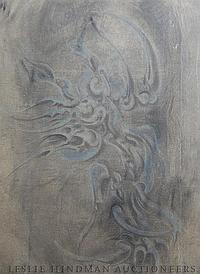 Ezio Martinelli, (American, 1913-1980), Untitled (Abstraction), 1953