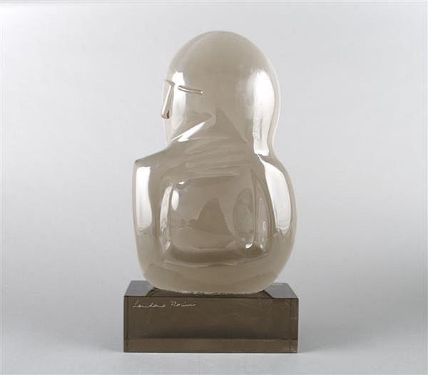 Loredano Rosin, (Italian, 20th Century), Man Pondering